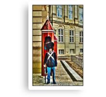 Royal Life Guard, Copenhagen, by Tim Constable Canvas Print