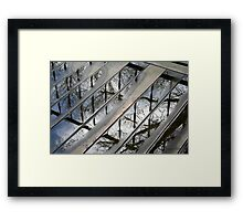 Stormy Weather Reflections Framed Print