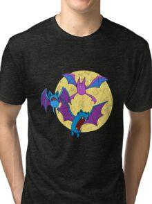 Zubat, Golbat, and Crobat Tri-blend T-Shirt