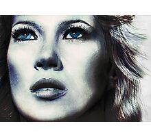 Blue Kate Photographic Print