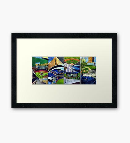 Stadium Series #1 Framed Print