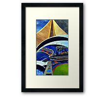 The Skydome Framed Print