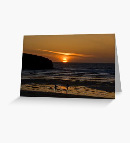 Catch It If You Can. Greeting Card