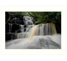 Lower Somersby Falls 7 Art Print