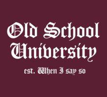 Old School University by Kenneth Krolikowski