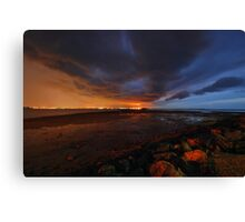 Coloured Storm - Wellington Point Canvas Print