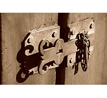 Queen Street Latch #2 Photographic Print