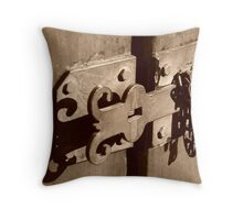 Queen Street Latch #2 Throw Pillow