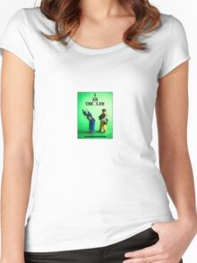 I am the Law Women's Fitted Scoop T-Shirt