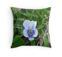 Wild Violet Throw Pillow