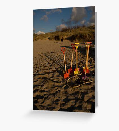 Sundown On Another Treasure Hunt Greeting Card