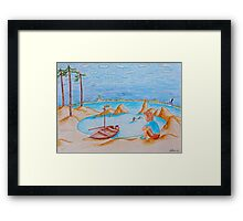 Swallows and Amazons Framed Print