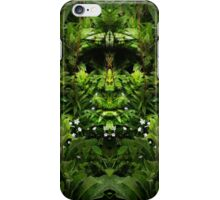 The Green Man of Arthog iPhone Case/Skin