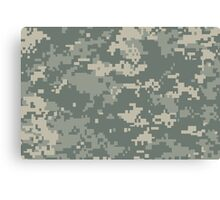 Army ACU Camouflage Canvas Print