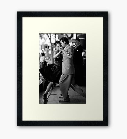 Caminito Tango Framed Print