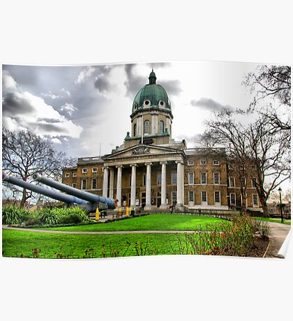 Imperial War Museum London HDR Poster