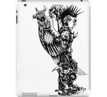demon slayer angel iPad Case/Skin