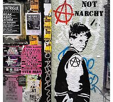 Give me hope not anarchy! by Tim Constable