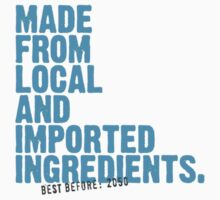 ingredients: local and imported by animo