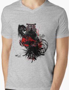 INNER DEMONS Mens V-Neck T-Shirt