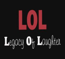 Legacy Of Laughter by Cory Frantz