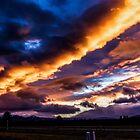 Sunset #50 by Richard Bozarth