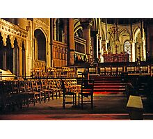 Canterbury Cathedral, Choir and Sanctuary 1961 Photographic Print