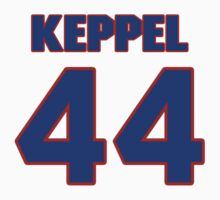 National baseball player Bobby Keppel jersey 44 by imsport