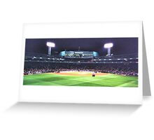 Red Sox VS. Yankees Greeting Card