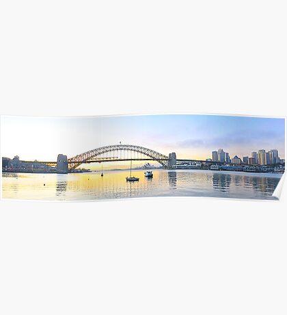 "Moods Of A City  Revisted-  ""The Colour Edition"" Sydney Harbour , Sydney Australia Poster"
