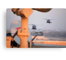 Blackhawks In Baghdad Canvas Print