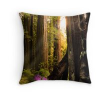 Among the Giants Throw Pillow