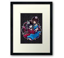 Mei & Fujioka (Classic edit) Framed Print