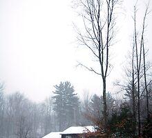 Winter Barn by Sam Pierce