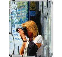 This Young Moment - tag line iPad Case/Skin