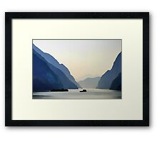 Passage To Heaven Framed Print