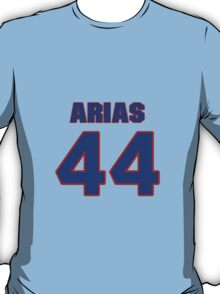 National baseball player Alberto Arias jersey 44 T-Shirt
