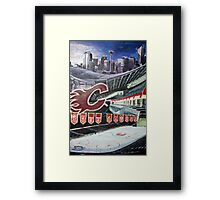 Calgary Flames- The Saddledome Framed Print