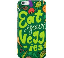 Eat Your Veggies iPhone Case/Skin