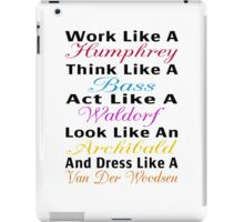 Be Like Gossip Girl iPad Case/Skin