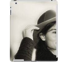Charming Cowgirl...  iPad Case/Skin