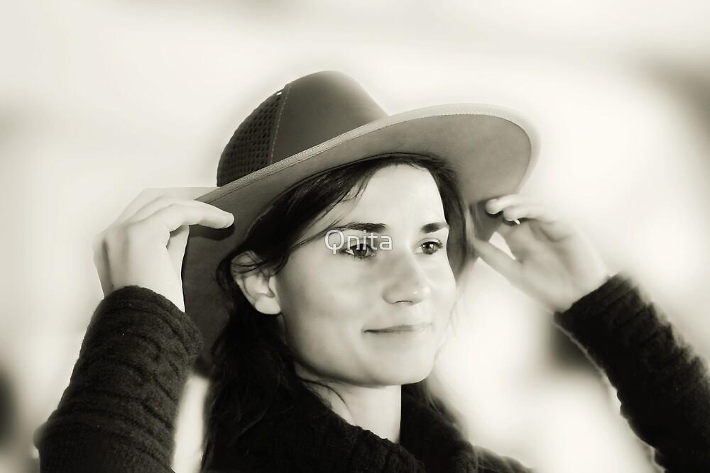 Charming Cowgirl...  by Qnita