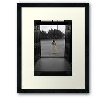 All Alone Framed Print