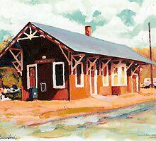 Cannondale Train Depot, Wilton Connecticut by RDRiccoboni