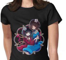 Mei & Fujioka (Green Eye edit.) Womens Fitted T-Shirt