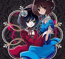 Mei & Fujioka (Green Eye edit.) by alphavirginis