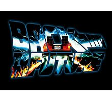 Back to the Future-Time travel Photographic Print