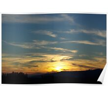Washington County Sunset Poster