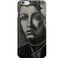 Billie Holiday - low ink iPhone Case/Skin