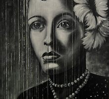 Billie Holiday - low ink by Inese